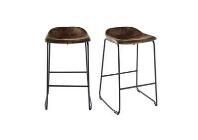 Image for Brown Cruz Bar Stool [Set of 2]