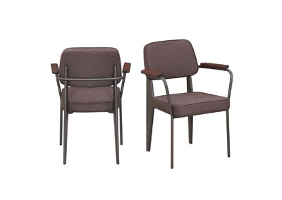 Image for Genesis Brown Side Chair (Set of 2)
