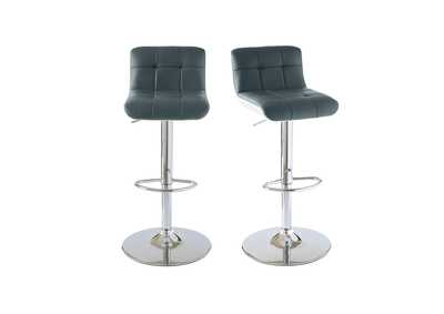 Image for Gray Melanie Bar Stool [Set of 2]