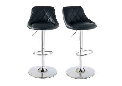 Image for Black Melissa Bar Stool [Set of 2]