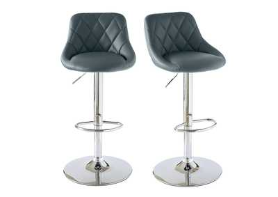 Image for Gray Melissa Bar Stool [Set of 2]