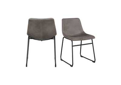 Image for Gray Wes Chair [Set of 2]