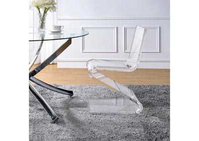 Image for Iris  Clear Side Chair