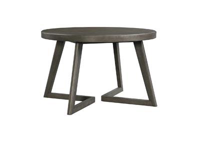 Image for Gray Cross Round Dining Table