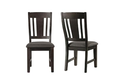 Image for Dark Gray Cash Side Chair [Set of 2]