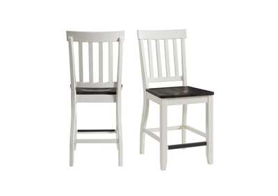 Image for Kayla Two Tone Counter Height Side Chair Set