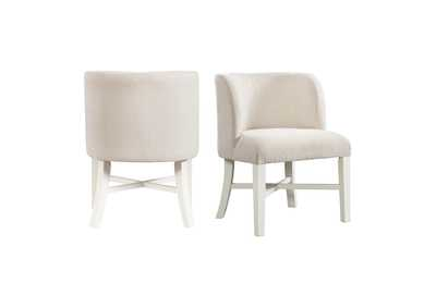 Image for Natural/White Park Creek Parson Chair [Set of 2]