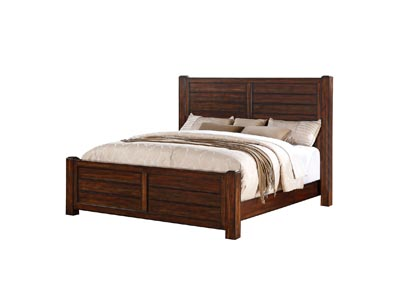 Image for Chestnut Dawson Creek Queen Panel Bed