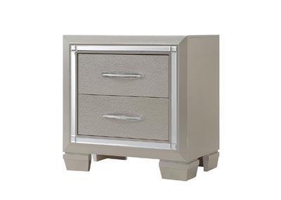 Image for Champagne Platinum Nightstand