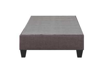 Image for Charcoal Abby Twin Platform Bed