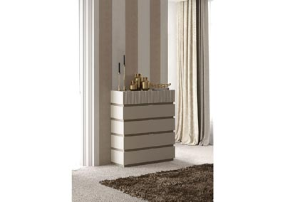 Image for Marina Beige & Grey Marina Dresser/Chest Set