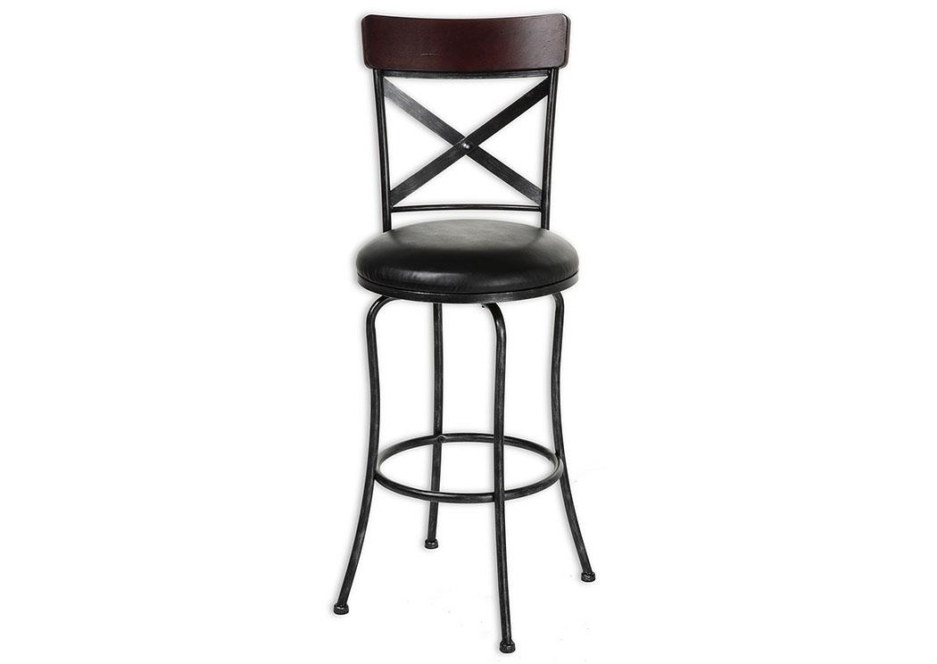 Mr Bar Stool Austin Black 30 Inch Barstool