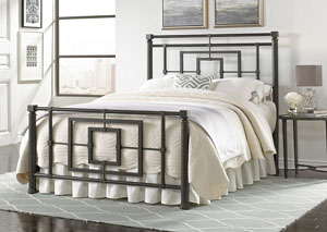 Sheridan Blackened Bronze Queen Bed