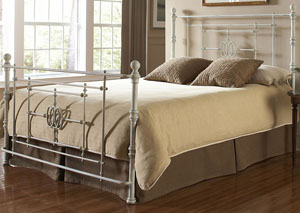 Lafayette White California King Bed