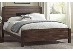 Arlington Dark Brown California King Bed
