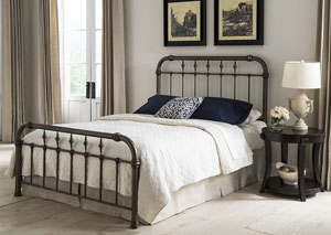 Vienna Aged Gold California King Bed