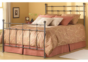 Dexter Hammered Brown Full Bed