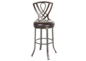 Lincoln Brown 30-Inch Barstool