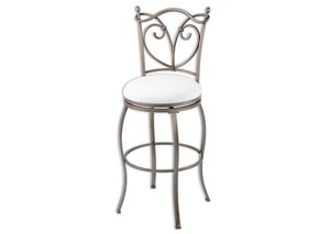 Raleigh Bronze 30-Inch Barstool