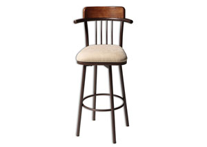 Augusta Copper 30-Inch Barstool