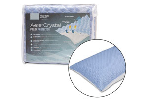 Aere Blue King/California King Pillow Protector