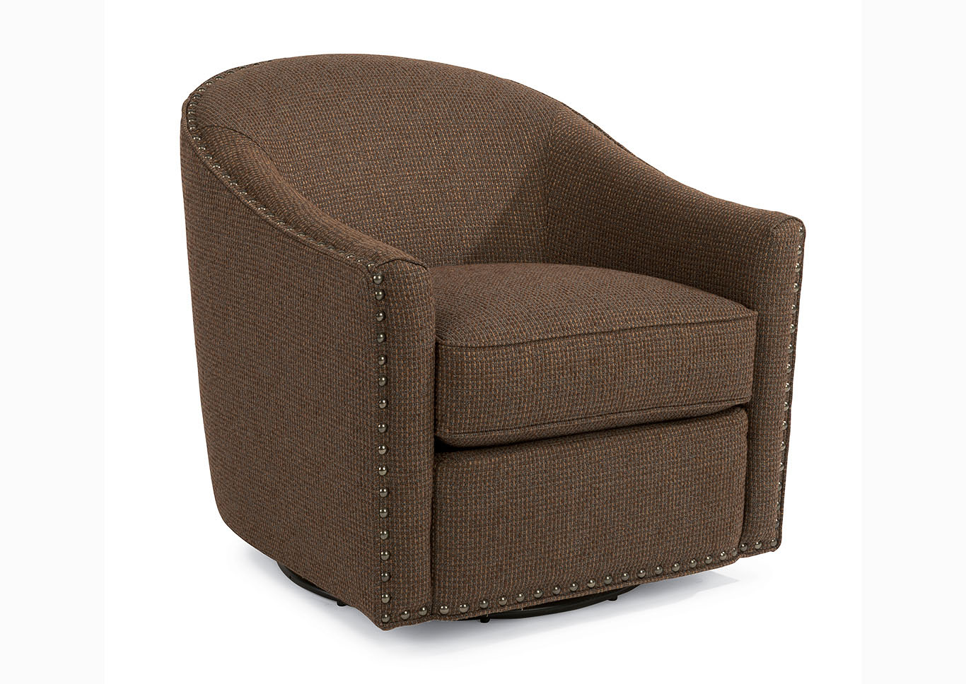 Kedzie Fabric Swivel Chair,Flexsteel