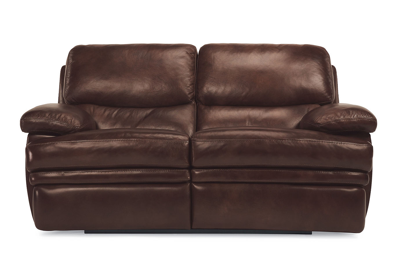 Dylan Leather Reclining Loveseat,Flexsteel