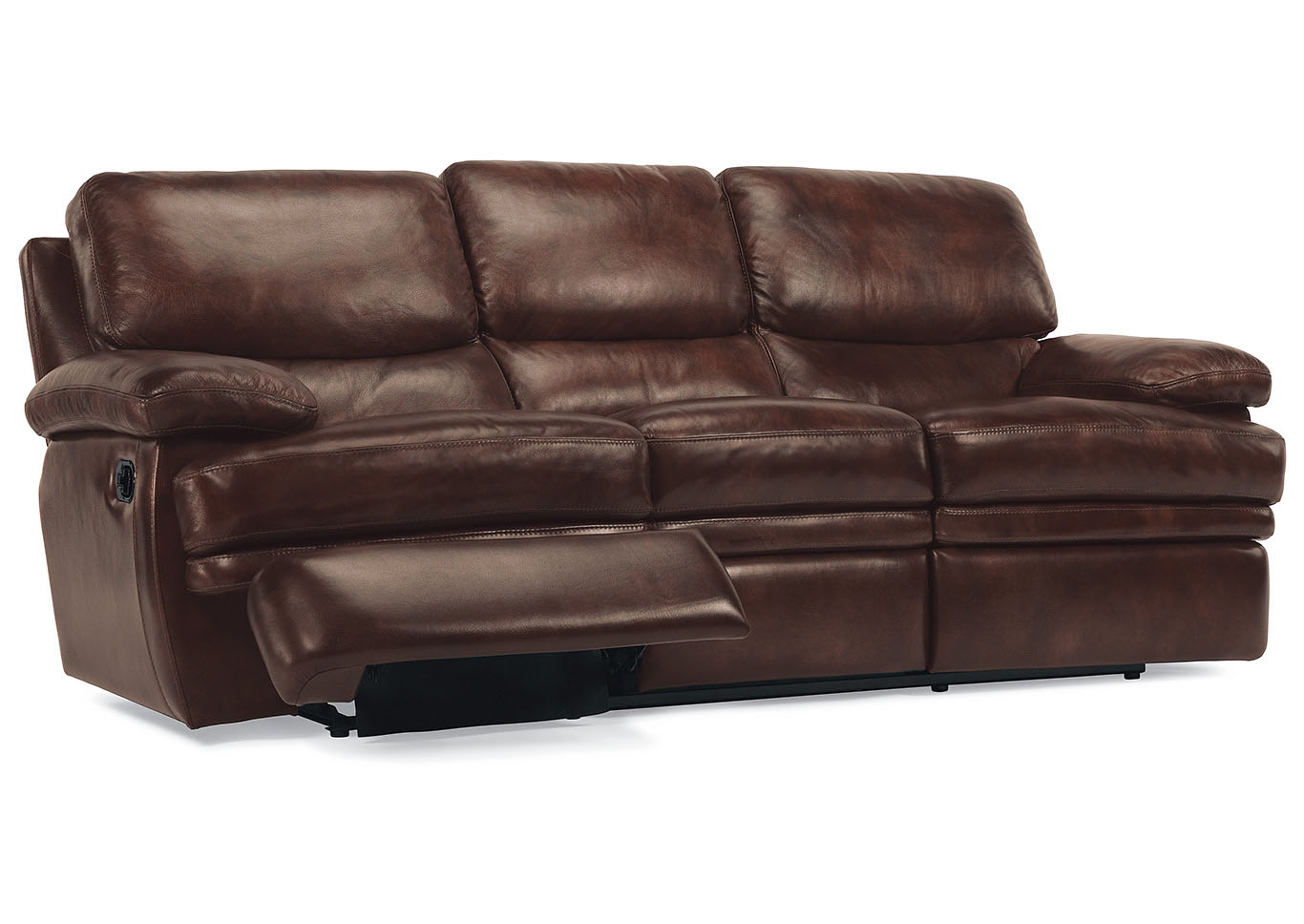 Dylan Leather Reclining Sofa,Flexsteel