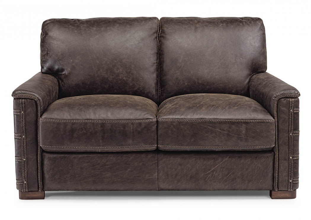 Groovy Country House Furniture Lomax Leather Loveseat Dailytribune Chair Design For Home Dailytribuneorg