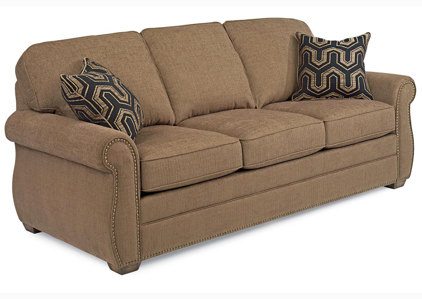 Whitney Fabric Sofa W/Nailhead Trim,Flexsteel
