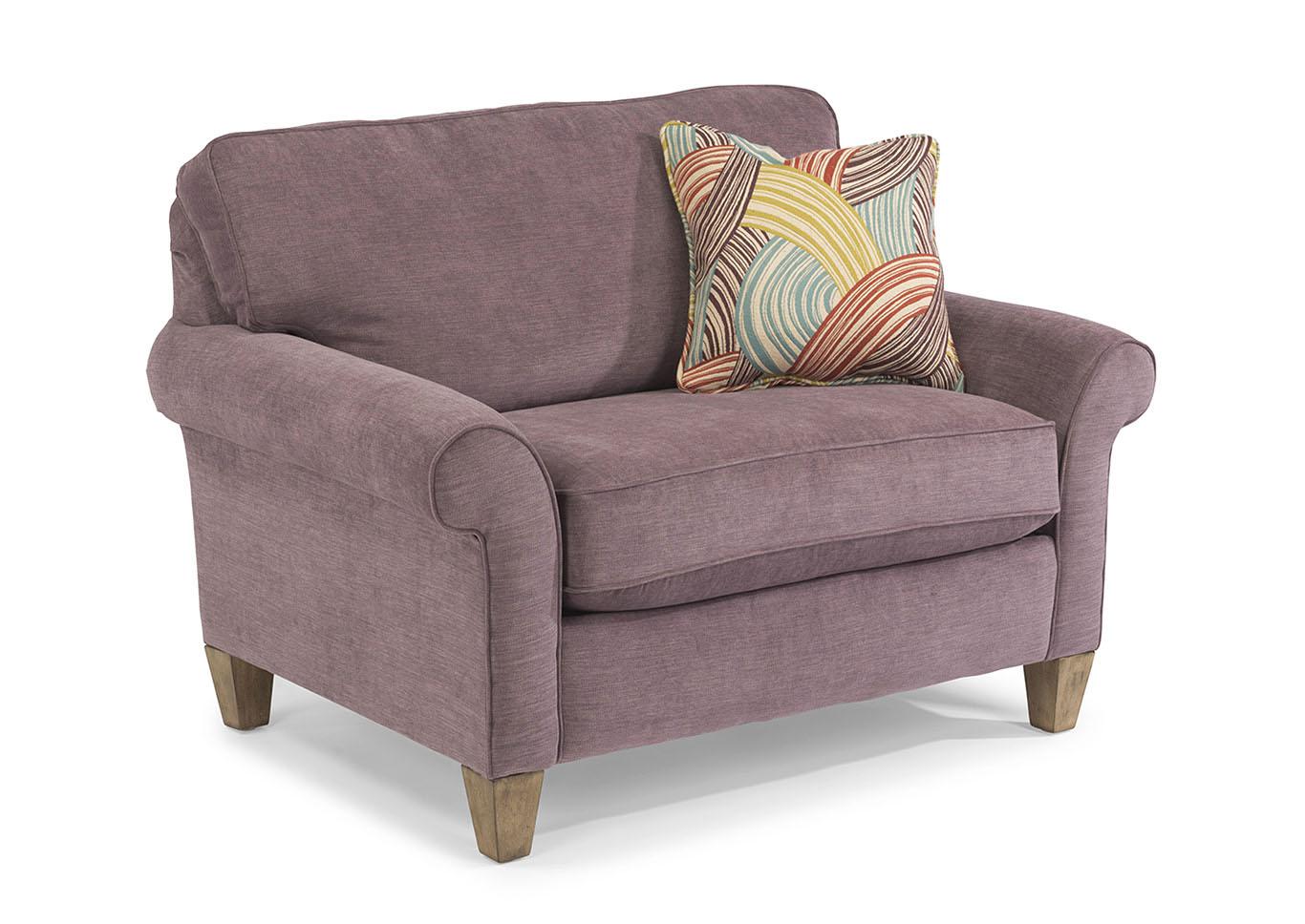 Westside Fabric Chair U0026 A Half,Flexsteel