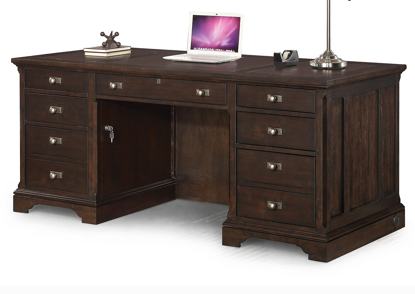 Walnut Creek Executive Desk,Flexsteel