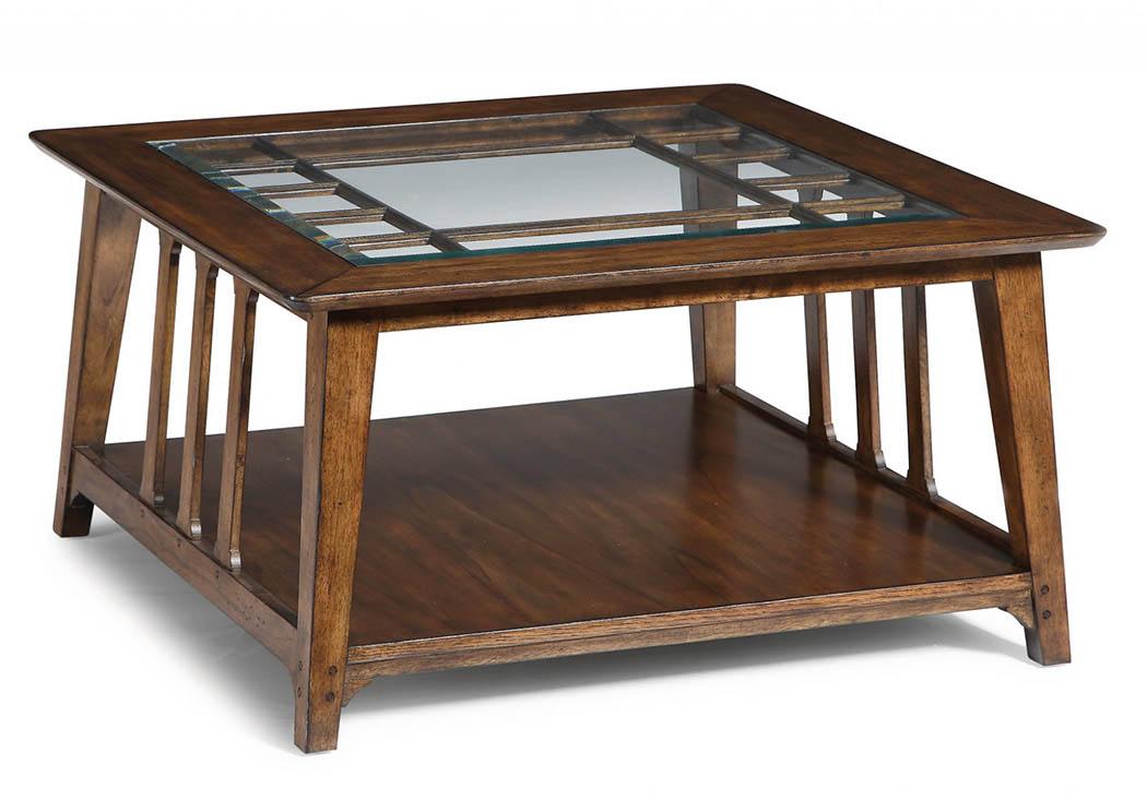 Sonora Square Coffee Table,Flexsteel