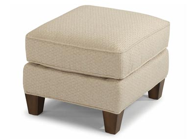 Image for Allison Fabric Ottoman