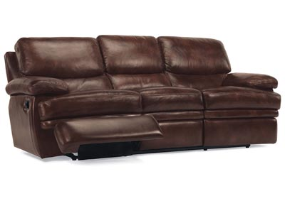 Dylan Leather Reclining Sofa