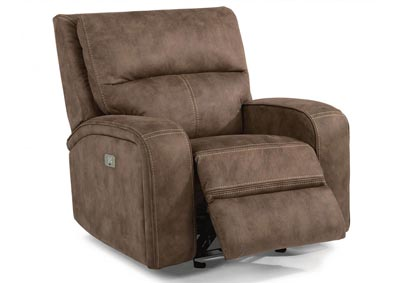 Rhapsody Fabric Power Gliding Recliner w/Power Headrest