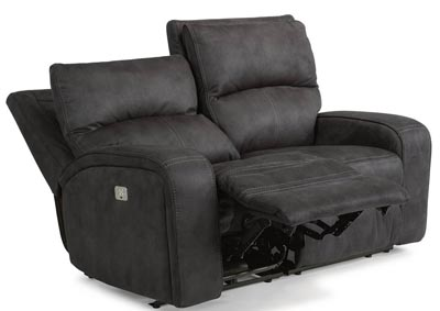 Rhapsody Fabric Power Reclining Loveseat w/Power Headrests