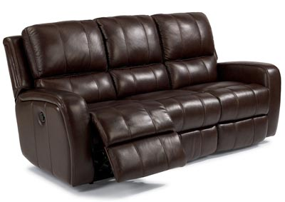 Image for Hammond Leather Power Reclining Sofa