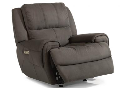 Nance Fabric Power Gliding Recliner w/Power Headrest