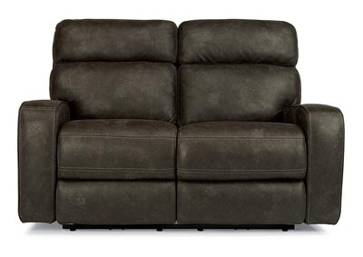 Tomkins Fabric Power Reclining Loveseat w/Power Headrests