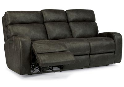 Tomkins Fabric Power Reclining Sofa w/Power Headrests