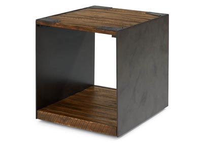 Flat Iron End Table