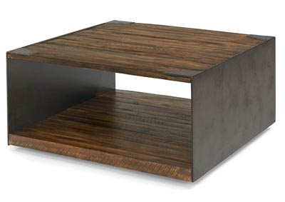 Flat Iron Square Coffee Table