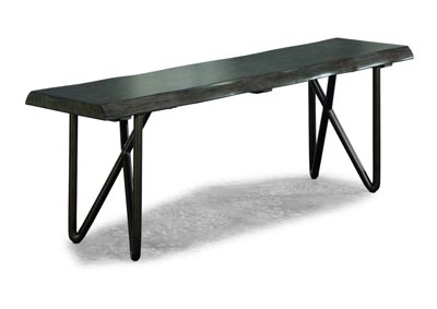 Image for Shadow Distressed Grey Bench