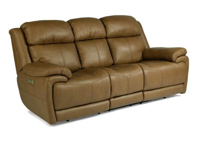Image for Elijah Tan Power Reclining Sofa with Power Headrests