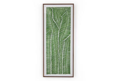 Image for Canvas + White Linen + Acrylic Shadow Box Art Studio Pteris Scando By Marianne Hendricks