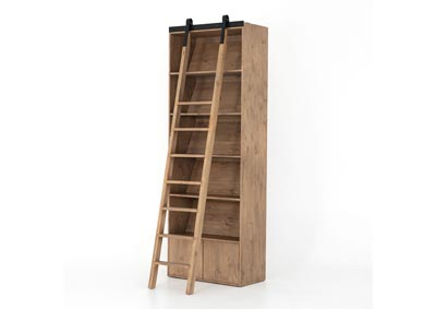 Image for Smoked Pine + Black Iron Haiden Bane Bookshelf