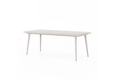 Image for Weathered Grey Solano Hansen Outdoor Dining Table
