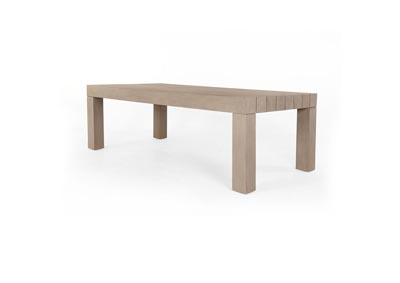Image for Washed Brown Solano Sonora Outdoor Dining Table