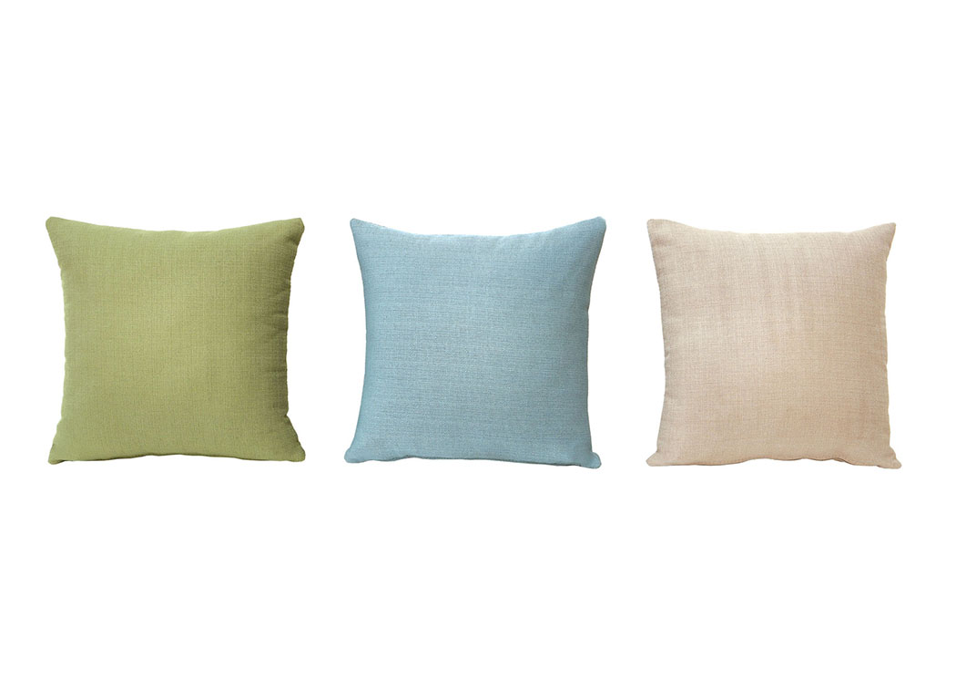 Pillo Blue Pillow (6/Box),Furniture of America